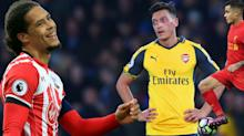 Premier League Gossip: Ozil to stay at Arsenal due to 'lack of interest', Barcelona in 'advanced talks' over Coutinho, Liverpool 'swoop for Van Dijk'