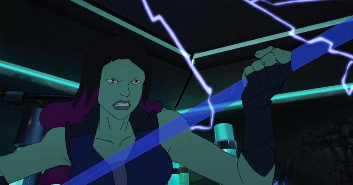Gamora becomes a fairytale princess in Marvel's Guardians of the Galaxy clip