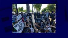 Paris: Extinction Rebellion manifeste sur les Champs-Elysées, 58 personnes verbalisées
