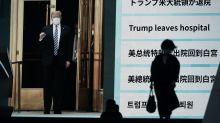 Trump health progress tips FTSE 100 into green at end of trading