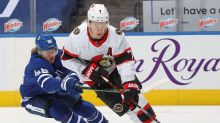 SNAPSHOTS: Brady Tkachuk says Senators want to finish strong against Leafs