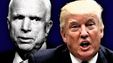 Trump attacks McCain, who died last year, over dossier leak