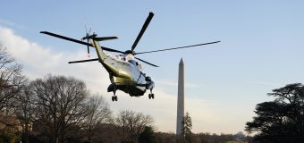 Trump requests large, military-style send-off