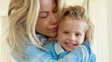 """Karina Bacchi diz que nunca bateu no filho: """"Palmada causa trauma"""""""