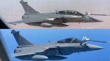 Watch Rafale fighter jets being refuelled mid-air on their way to Ambala from France