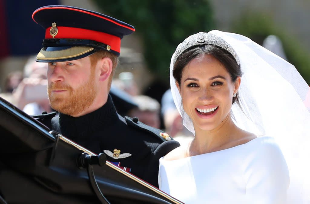 從小就希望嫁入皇室的梅根,終於美夢成真。