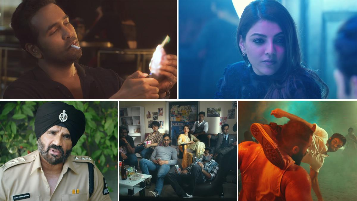 Mosagallu Trailer Review: Vishnu Manchu, Kajal Aggarwal Scam the Rich While  Suniel Shetty Tries to Stop Them in This Intriguing Story (Watch Video)