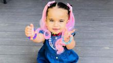 Like Mother, Like Daughter! Blac Chyna Shares Adorable Photo of Dream Kardashian with Pink Hair