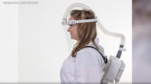 Whirlpool builds respirators for healthcare workers, 'to replace N95 masks and visor'