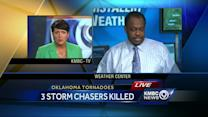 Bryan Busby remembers storm chaser killed in Oklahoma