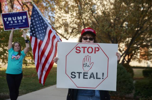 Facebook takes down pages spreading 'Stop the Steal' election misinformation
