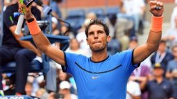 Energized Nadal completes straight-sets win in opener