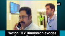 Watch: TTV Dinakaran evades question on 'Two Leaves symbol' alleged bribe case