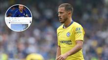 Chelsea star Eden Hazard drops massive hint over future on Twitter