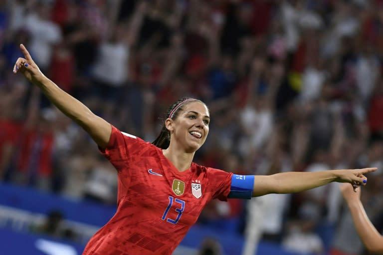 US star Morgan joins Tottenham women