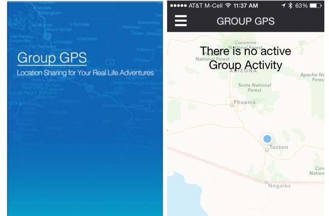 Group GPS is a great app for hikers, bikers, and those wanting to stay in touch