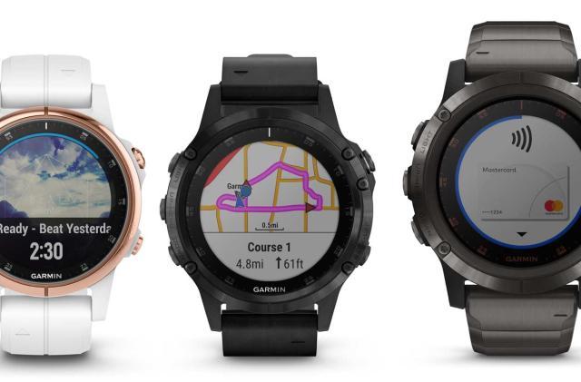Garmin's Fenix 5 Plus watches help you survive mountain climbing