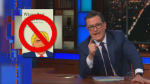 Stephen Colbert upset after someone publishes imposter version of his Trump book