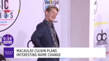 Macaulay Culkin makes interesting name change