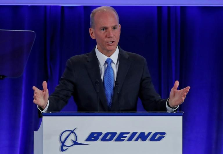Boeing Chief Executive Officer Dennis Muilenburg said the 737 MAX could be brought back into service gradually by government regulators but is still on track to be cleared to fly again in 2019