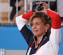 Hoda is the fan every Olympian deserves in this viral reaction video