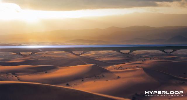 Hyperloop TT plans to build a working line in Abu Dhabi in 2019