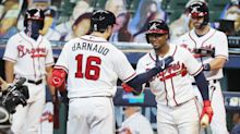 MLB playoff updates: Braves one win away from NLCS after homering past Marlins again