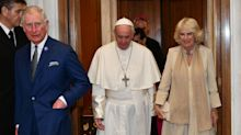 Charles and Camilla visit the Vatican