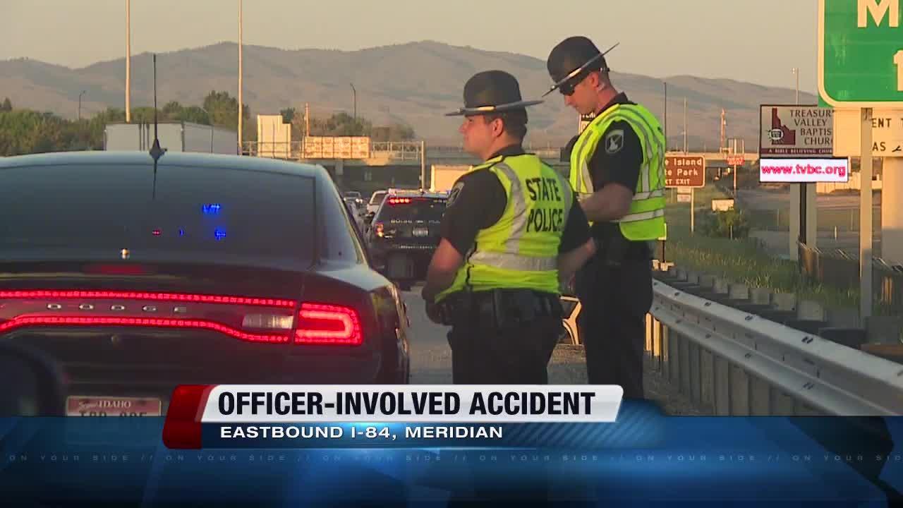 BPD-involved accident on EB I-84