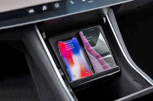 Tesla launches a pricey wireless charging pad for the Model 3