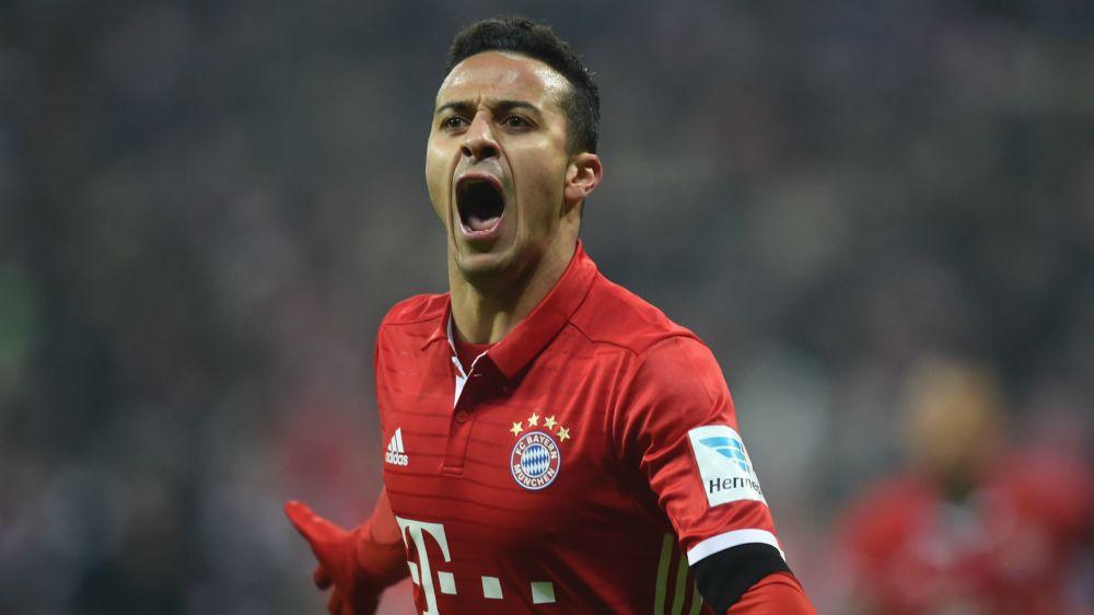 El Bayern habría pedido al Barça 90 millones por Thiago Alcántara