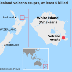 New Zealand officials confirm 8 deaths from White Island volcano eruption, plan recovery mission for more bodies