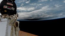 Solar Eclipse from Orbit: Crew on Space Station Sees Moon's Shadow (Video, Photos)