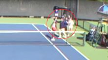 Handshake provokes fight between Canadian and American tennis pros