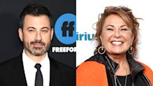 Jimmy Kimmel under fire for saying Roseanne Barr could use 'some compassion and help'