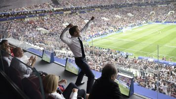 The best reaction as France beat Croatia in style