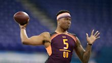 Let's examine this draft day 'Raiders consider Dwayne Haskins at No. 4' report, shall we?