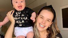 Amamentando Liz, Thaeme desabafa: 'Medo de estar grávida de novo'
