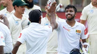 Sri Lanka re-write history with amazing Test first