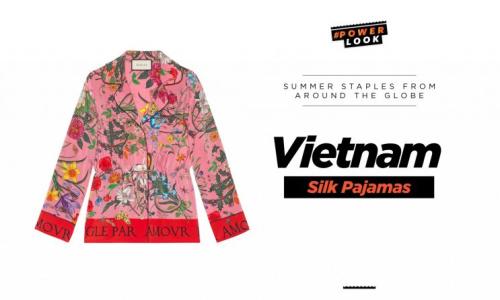 Vietnam Silk Pajamas
