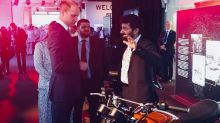 Prince William Spends Some Time With Royal Enfield Interceptor 650 at Heads of Commonwealth Meeting 2018