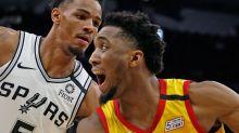 NBA restart: Utah Jazz aim to slow San Antonio Spurs' playoff push