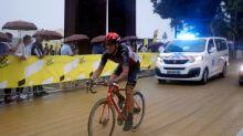 Gilbert se retira del Tour con fractura de rótula