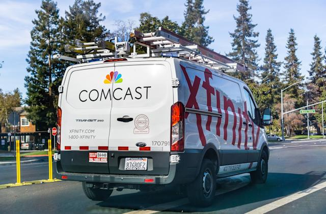 Comcast delays 12-state data cap expansion to July
