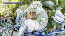 This couple's enchanting Fairy Tale wedding at Disneyland will blow you away