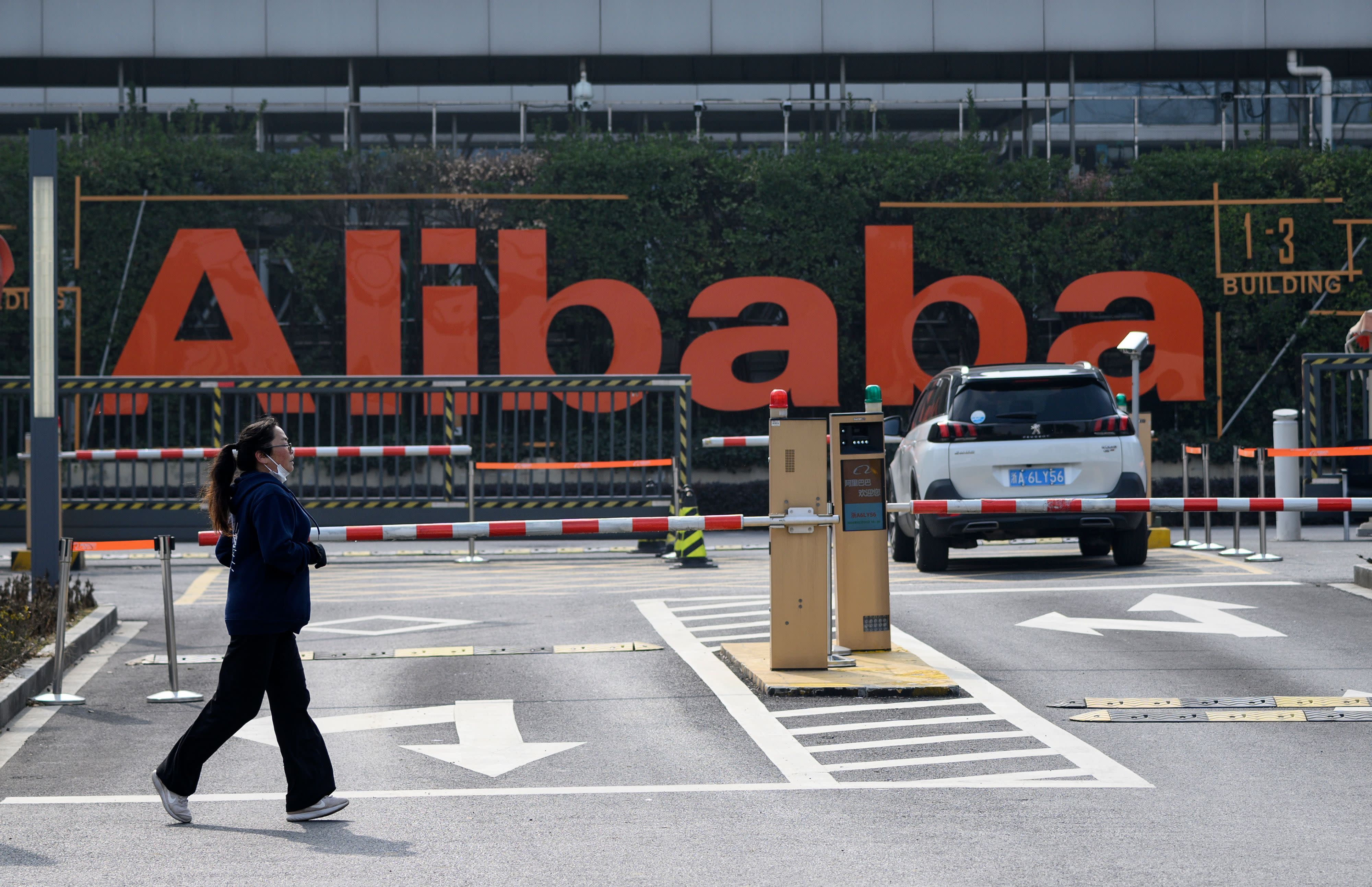 Alibaba beats earnings estimates, revenue climbs 38%