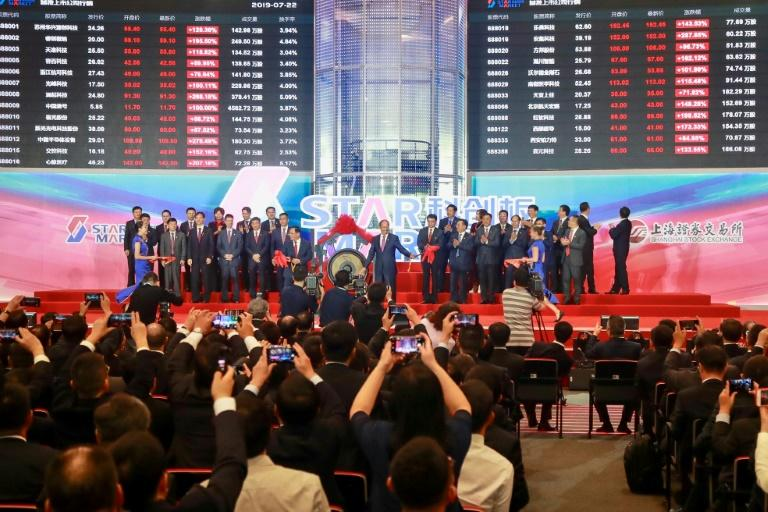 Most companies surge on first day of trade on China's STAR Market