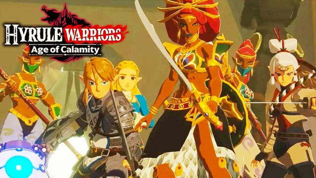 Hyrule Warriors Age Of Calamity 25 Minute Gameplay Demo With Nintendo Treehouse