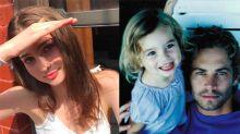 ¡Cómo ha crecido la pequeña hija de Paul Walker!