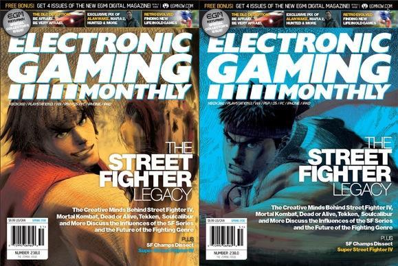 Revived EGM's first issue has Street Fighter covered